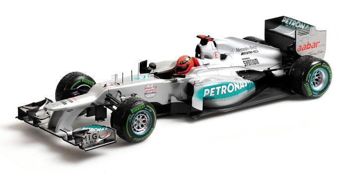 Minichamps Mercedes AMG F1 W03 última carrera 2018 Schumacher 1:18  totalmente Nuevo