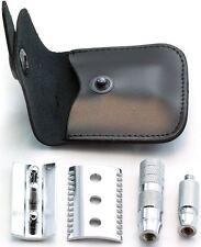 Merkur Open Comb Travel Double-Edge Safety Razor & Case