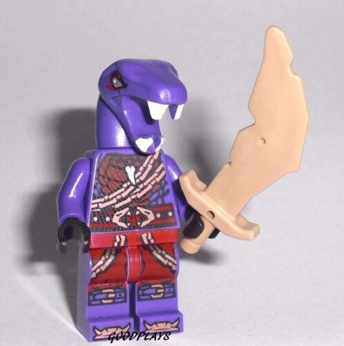 LEGO NINJAGO  Eyezorai Snake Ninja minifigure w// weapon New From set 70595