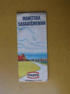 MAP-MANITOBA-SASKATCHEWAN-CANADA-1975-TEXACO-GAS-SERVICE-STATION-ADVERTISING