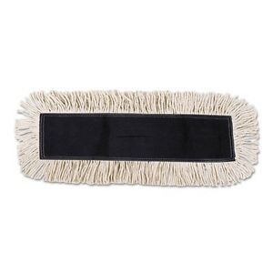 Unisan Disposable Dust Mop Head with Sewn Center Fringe - 1636