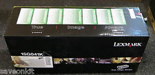 Genuine Lexmark 15G041K Black Cartridge C752 C760 C762 X752 X762 NEW SEALED
