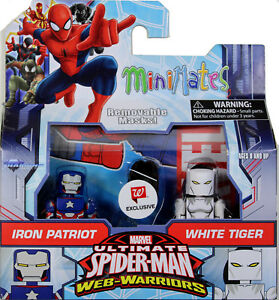 Marvel-Minimates-IRON-PATRIOT-amp-White-Tiger-ACTION-FIGURE-SET-DST