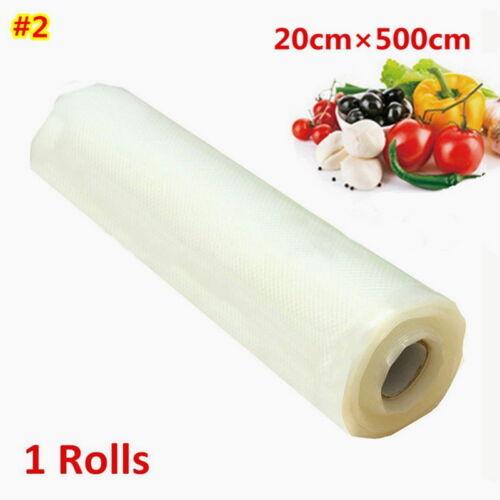 Vacuum Bag Roll Sealer Rolls Large 15//20//28*500CM Vacuum Bags Film-Roll-Kitchen