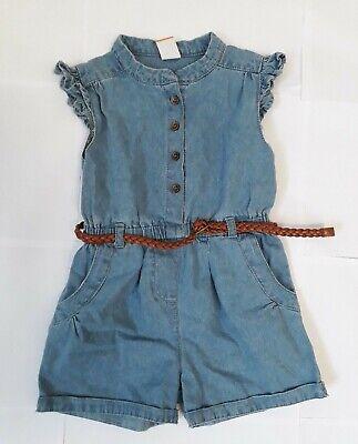 Bambini Ragazza Jeans Tuta Di Pusblu Dimensioni 98 100% Cotone-mostra Il Titolo Originale Per Produrre Un Effetto Verso Una Visione Chiara