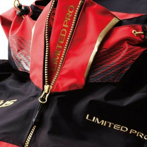 SHIMANO NEXUS GORE-TEX Fishing Rain Suits LIMITED PRO RA-112S Red From Japan EMS