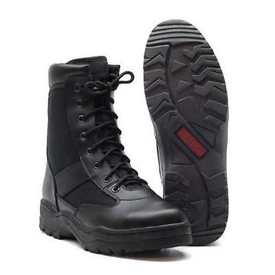 Neu Army Stiefel Arbeitsschuhe Größe 37 - 47 Kampfstiefel outdoor Boots schwarz