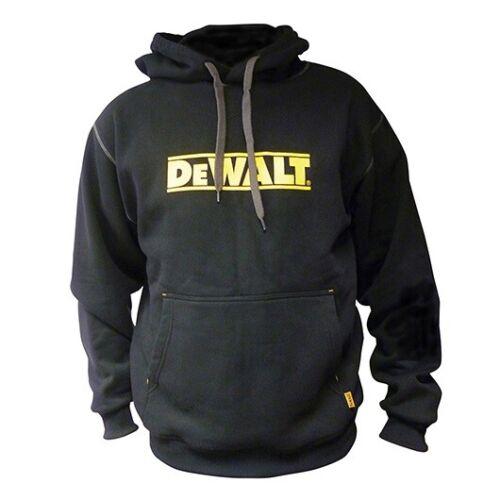 Black//Yellow DEWALT DWC47-001 Logo Hooded Sweatshirt