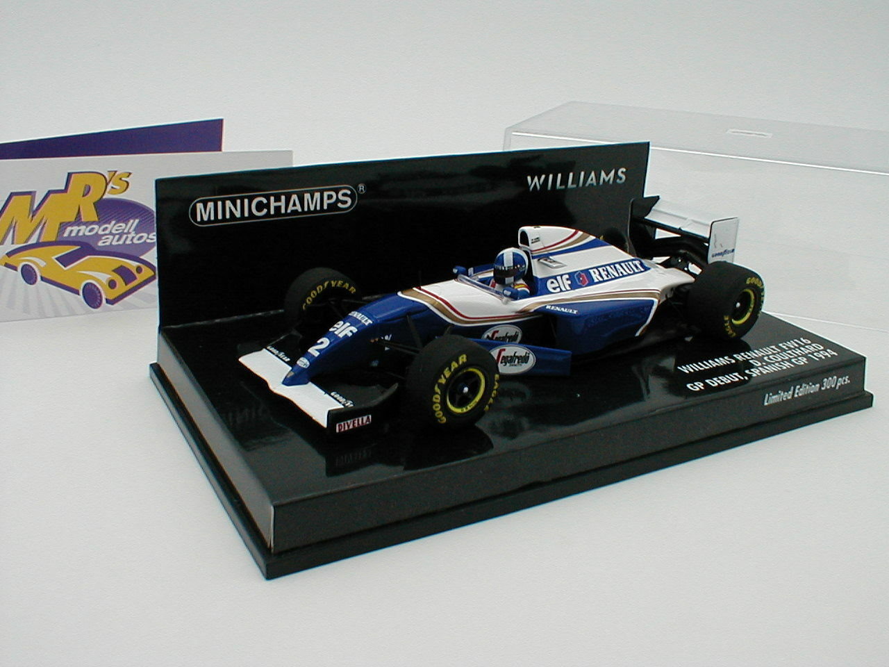 Minichamps 417940802 - Williams Renault Renault Renault FW16 Nigel D. Coulthard Spanien GP 1 43 e76bc4