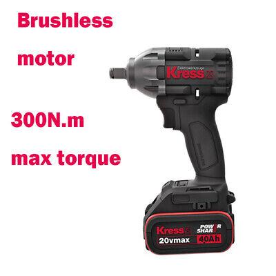 <b>Wrench</b> Kress Brushless motor powerful <b>cordless</b> Ku270 for car ...