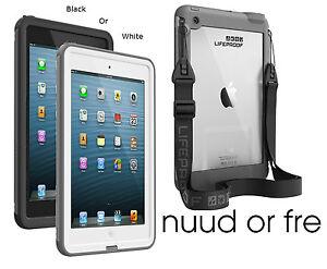buy online 8c57f 428cd Detalles acerca de Nuevo Lifeproof Ipad Mini Waterproof/shockproof  Funda-Nuud o Efr, Blanco O Negro- mostrar título original