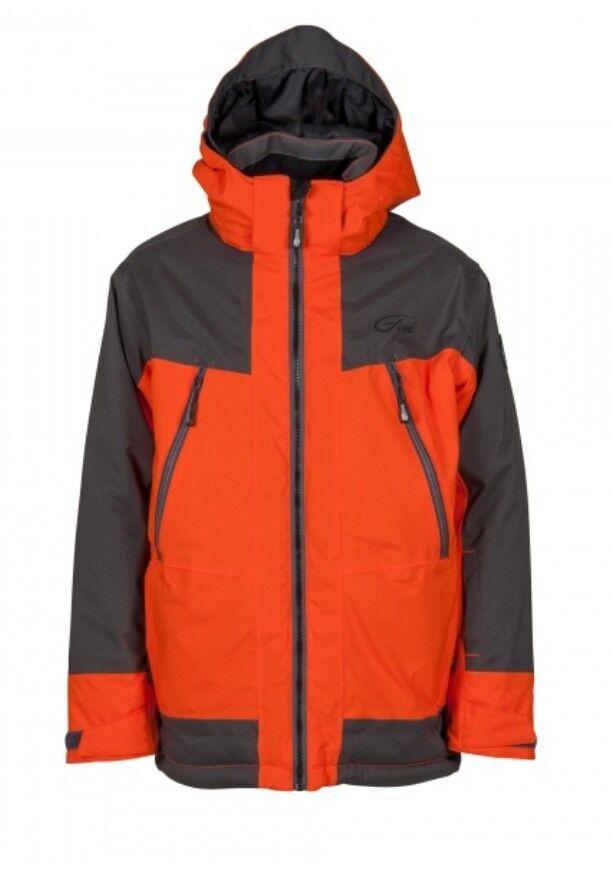 Five Seasons Freddy Jacket Kids, Gefütterte Winter-/Skijacke für Kinder, flame