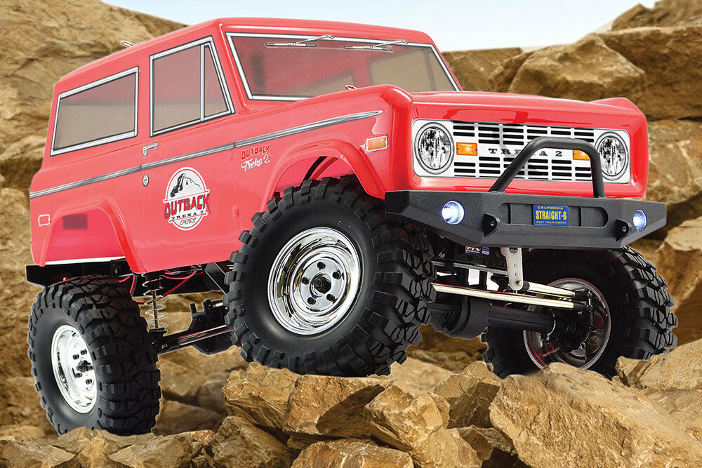 Ftx Outback V2 treka (Ford Bronco) 4x4 Rock Crawler RTR juicio RC coche Inc Bat  CRG