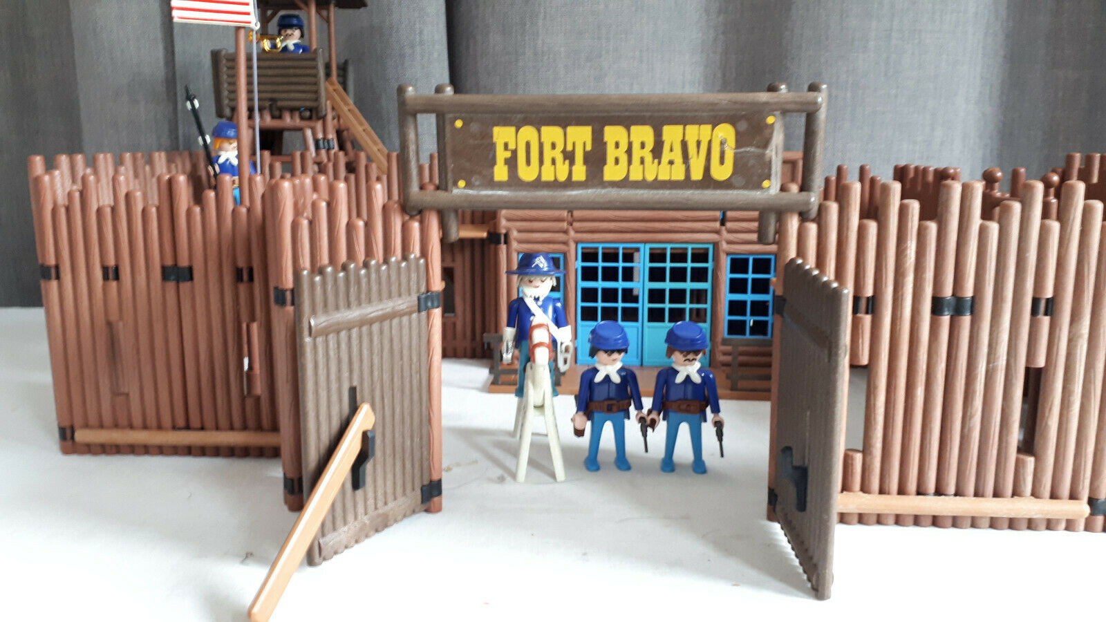Fort Bravo PLAYMOBIL COMPLET - Lot 3773 3773 3773 5ae732