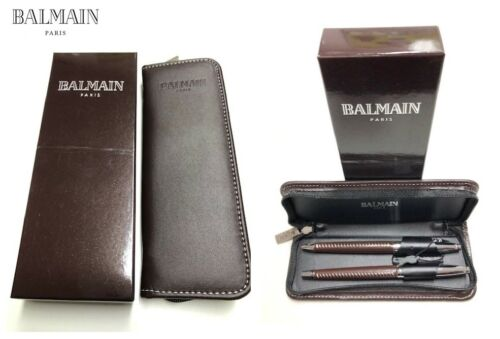 Exklusives Geschenkset von Balmain Kugelschreiber /& Tintenkugelschreiber Millau