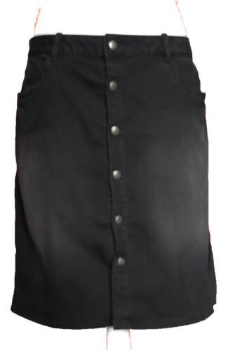 New Womens Marks /& Spencer Black Denim Skirt Size 18 14 10