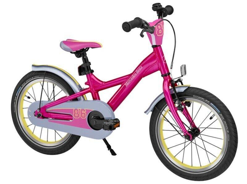 "Original mercedes-benz Cildren/'s Bike Kids Bike Pink Aluminium 16 /"" Inch"