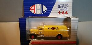 HARTOY-LO3062-PENNZOIL-TANKER-DELIVERY-TRUCK-1-64-SCALE-DIECAST-METAL-MODEL