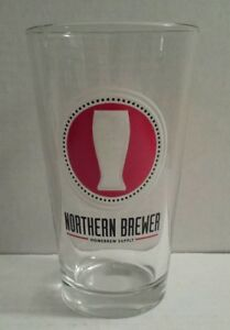 NORTHERN-BREWER-HOMEBREW-SUPPLY-Collectible-Glass-Barware-Beer-16oz-PINT-GLASS