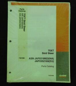case 75xt 75 xt skid steer loader tractor parts manual catalog mint rh ebay com case 75xt parts manual Case 75XT Controls
