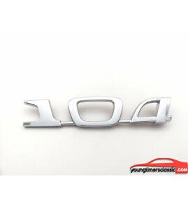 Monogramme-104-pour-PEUGEOT-104
