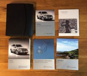 2013 MERCEDES ML350 ML550 ML63 AMG OWNERS MANUAL SET. Car Manuals ...