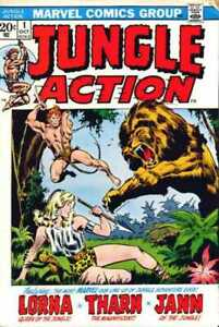 Jungle-Action-1972-series-1-in-Fine-minus-condition-Marvel-comics-u3