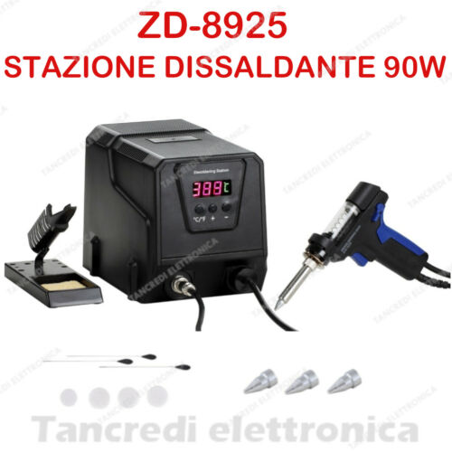 Dissaldatore desoldering station Vacuum Tin Electric Gun Desoldering Tips