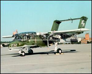 USMC-OV-10-Bronco-VMO-1-MCAS-New-River-1982-8x10-Aircraft-Photos