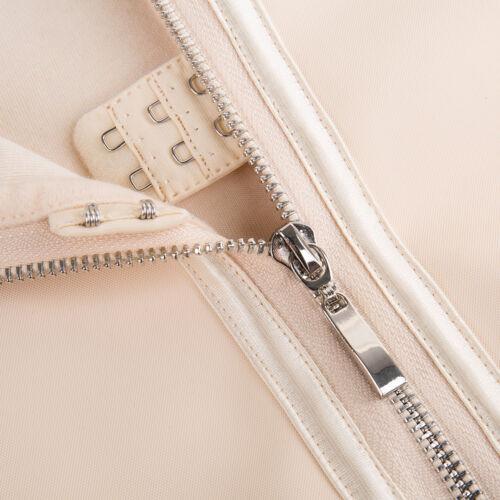 Fajas Sports Latex Zipper Waist Trainer Exercise Corset Body Shaper Slim Gridles