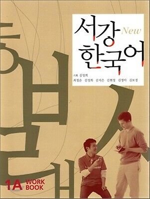 Sogang Korean 1A Workbook w/ CD Korean language / Korea Book Hangul Free Ship