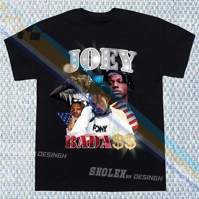 Logic Joey Badass Everybody/'s Tour Concert Rap Hip Hop Cotton T-Shirt SZ XL