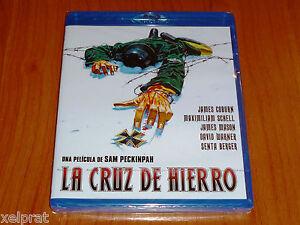 LA-CRUZ-DE-HIERRO-CROSS-OF-IRON-Sam-Peckinpah-Bluray-disc-Precintada