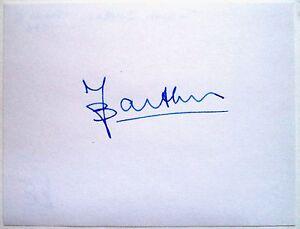 JOSEPH BARTEL 1952 OLYMPIC 1500m GOLD MEDAL WINNER - ORIGINAL INK AUTOGRAPH