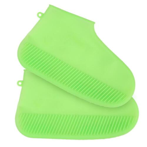 Unisex Silicone Overshoes Waterproof Shoes Cover Reusable Non-slip Rain Boots