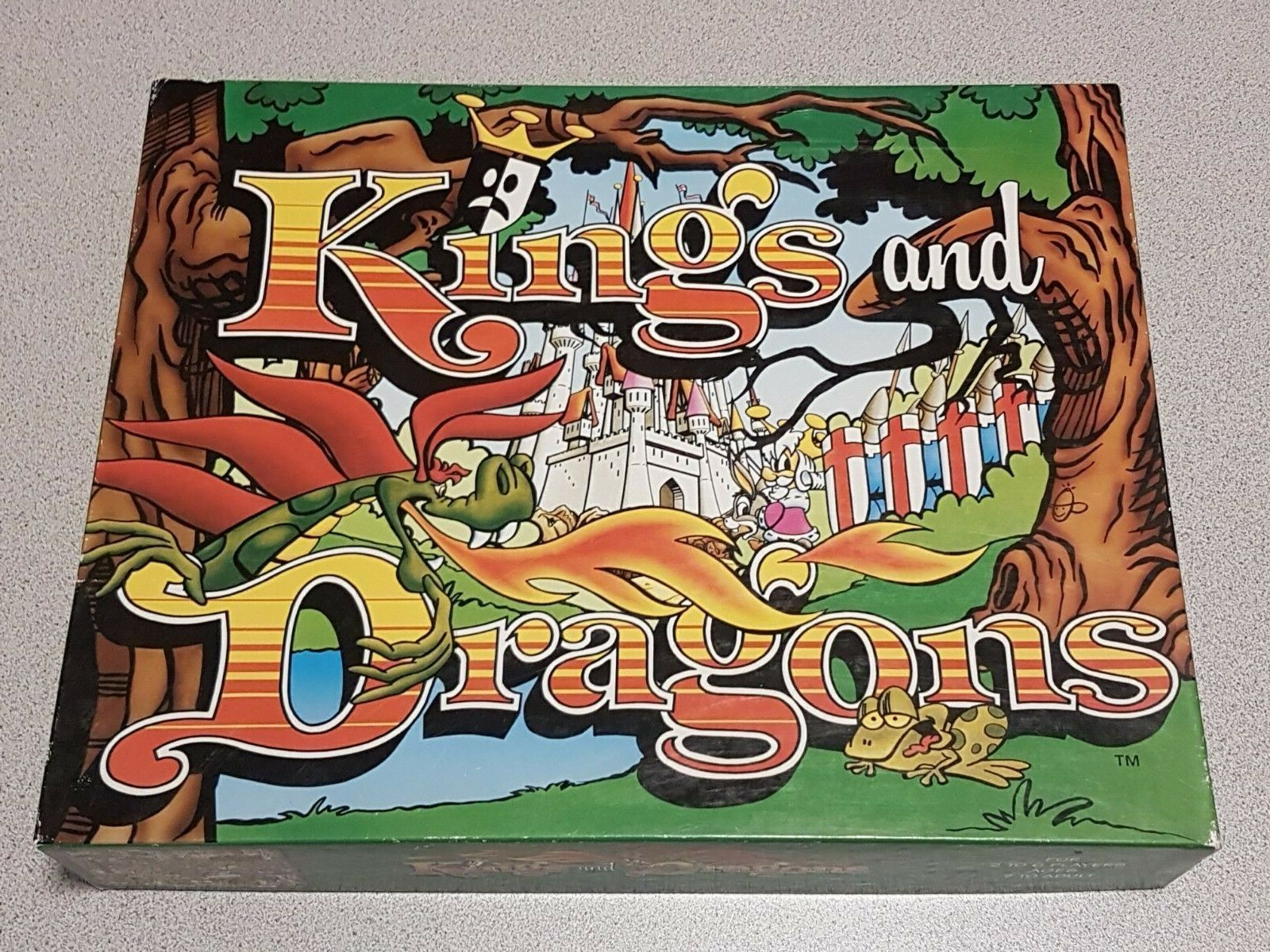 Kings and Dragons Game Northern Games Co. 1999