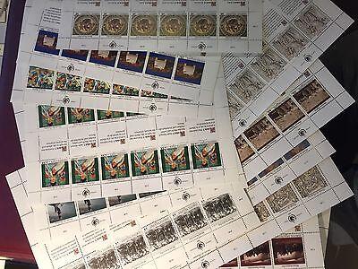 FleißIg United Nations, 12 Human Rights Blätter Aus 1989 &1990 Postfrisch Delikatessen Von Allen Geliebt