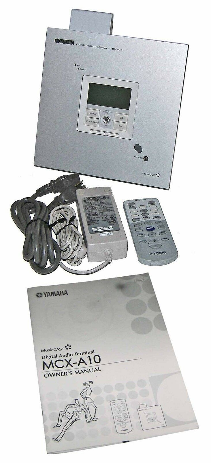 ✪ Yamaha MCX-A10 Digital Audio Terminal MusiCAST Wireless Client-REMOTE+ TESTED