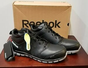 a2bcc1b14aa Reebok Work RB4142 Sublite Cushion Work Alloy Toe Work Shoe Black Sz ...