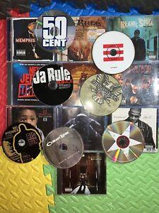LOT OF 17 RAP HIP HOP CDS Rare Underground Vintage Big Pun Jay-Z Kanye West 50