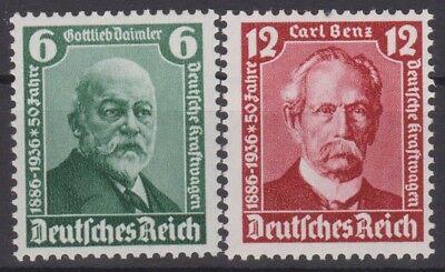 604-605 ** 18€ === Kat Trendmarkierung === Dr Drittes Reich Mi
