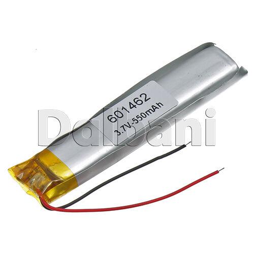 New 3.7V 550mAh Internal Li-ion Polymer Battery 61.7x13.5x6.2mm 601482 16-0282