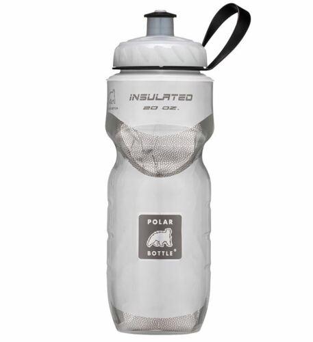 environ 566.98 g Polar Bouteille Sport thermique isolé 20 oz bouteille d/'eau-Blanc