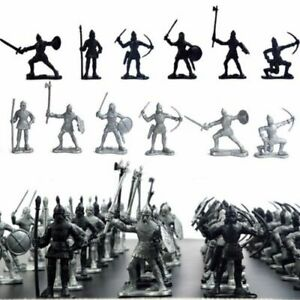 60Pcs-Set-Knights-Warriors-Medieval-Toy-Soldiers-Military-Figures-Kids-Toy-Gifts