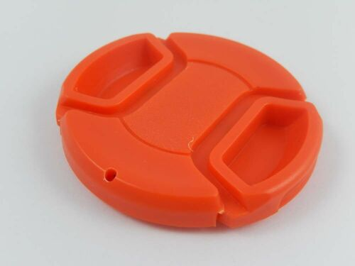 Lens Cap 52mm red for Panasonic Lumix G-Vario 14-42 mm 3.5-5.6
