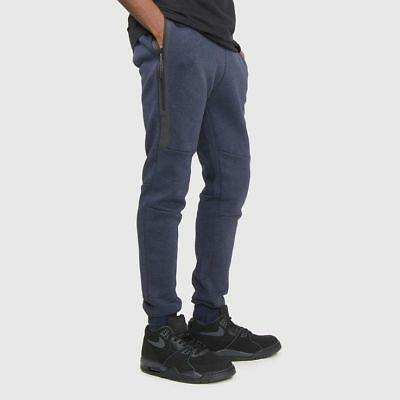 Nike Men's Tech Fleece Joggers Navy 805162-473 Size S Men's Clothing Activewear Bottoms