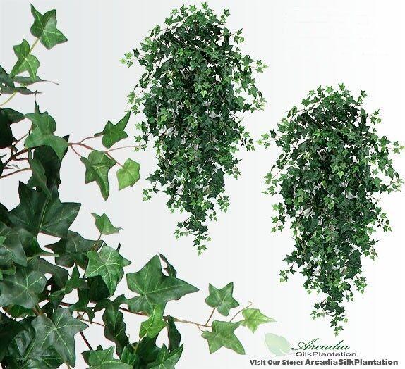 2 51  Artifical Ivy Hanging Bush  Silk Plants Wedding