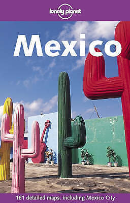 Lonely Planet Guide to Mexico - over 200 pages - very good condition
