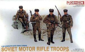 DRAGON 3008 1//35 Soviet Motor Rifle Troops