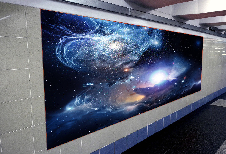 3D Starlights Ship 79 Wall Paper Murals Wall Print Wall Wallpaper Mural AU Kyra